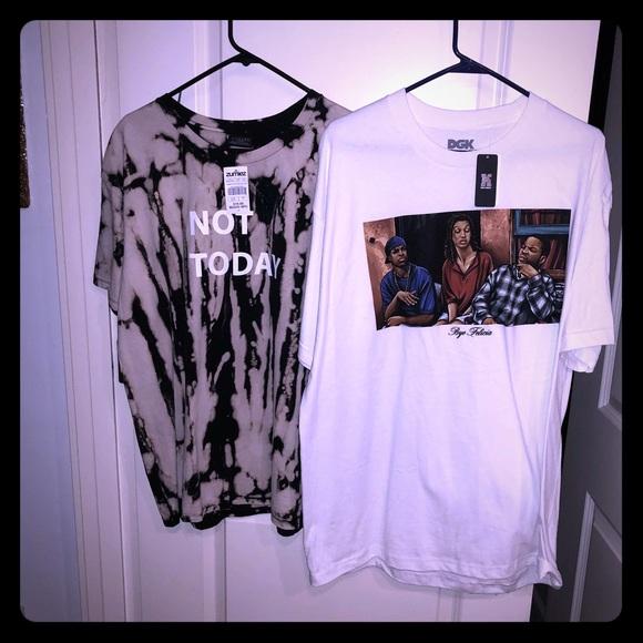 aa33194d54 Zumiez Shirts | 2 Mens Novelty Tees 1 Low New With Tags | Poshmark
